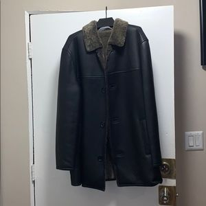 Men's Andrew Marc New York real Shearling Coat